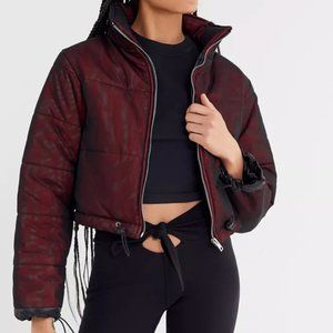 I.AM.GIA RED ROAD WARRIOR PUFFER WINTER JACKET